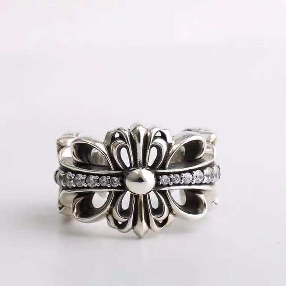 Chrome hearts ring  lovers ring